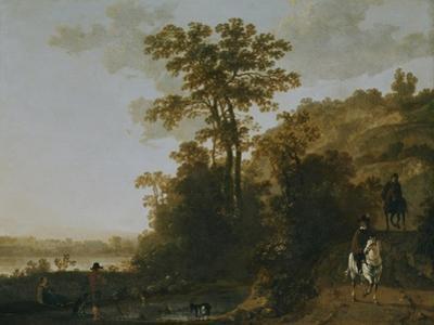 An Evening Ride Near a River