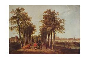 'Avenue at Merdervort', c1650-1652, (c1915) by Aelbert Cuyp