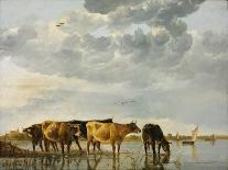 The Maas at Dordrecht, 1680-Aelbert Cuyp-Giclee Print