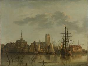 Dordrecht at Sunset by Aelbert Cuyp