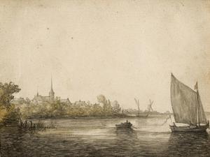 River Landscape by Aelbert Cuyp