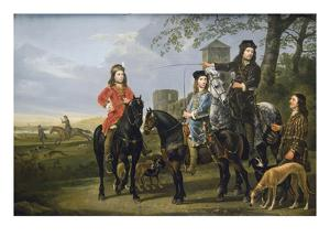 Starting the Hunt by Aelbert Cuyp