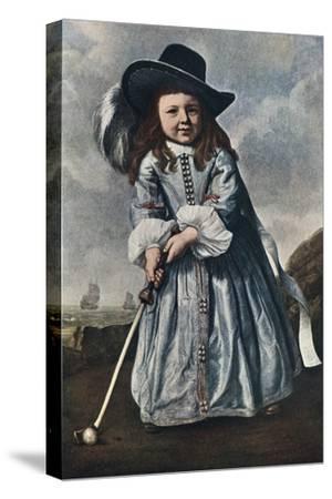 The Girl Golfer, C1650