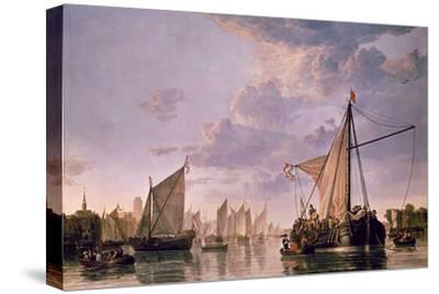 The Maas at Dordrecht, 1680
