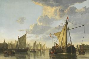 The Maas at Dordrecht, c.1650 by Aelbert Cuyp