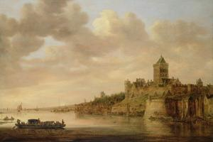 The Valkhof at Nijmegen, 1650 by Aelbert Cuyp