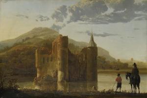 Ubbergen Castle, C. 1655 by Aelbert Cuyp