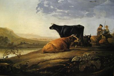 Young Herdsmen with Cows