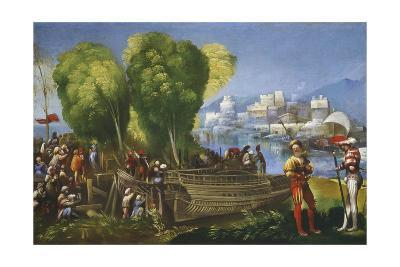 Aeneas and Achates on the Libyan Coast, C.1520-Dosso Dossi-Giclee Print