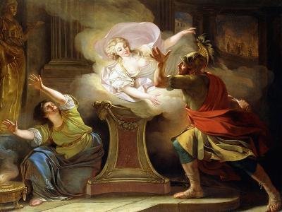 Aeneas Pursuing Helen in the Temple of Vesta-Pierre Puvis de Chavannes-Giclee Print