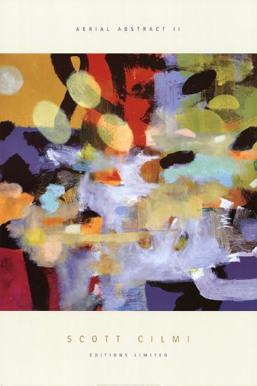 Aerial Abstract II-Scott Cilmi-Art Print