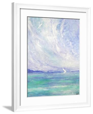 Aerial Ballet-Margaret Coxall-Framed Giclee Print