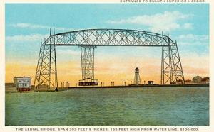 Aerial Bridge, Duluth Harbor, Michigan