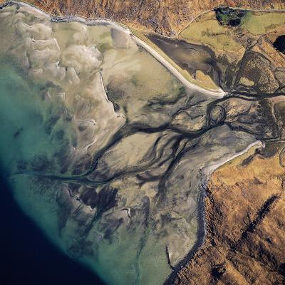 Aerial Image of Scotland, UK: Barrisdale Bay-Adrian Warren-Photographic Print