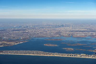 Aerial of New York, United States of America, North America-Michael Runkel-Photographic Print