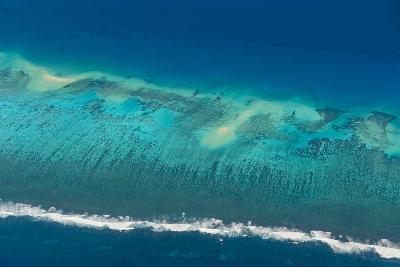 Aerial of Tonga, South Pacific-Michael Runkel-Photographic Print