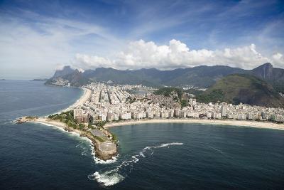 Aerial, Rio De Janeiro, Brazil, South America-Alex Robinson-Photographic Print