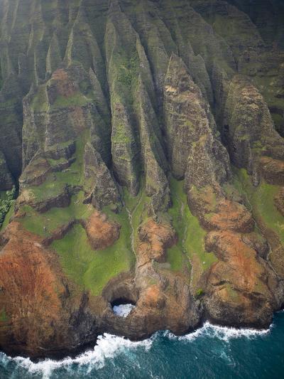 Aerial Shots of the Kauai Island in Hawaii-Sergio Ballivian-Photographic Print