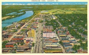 Aerial View, Augusta