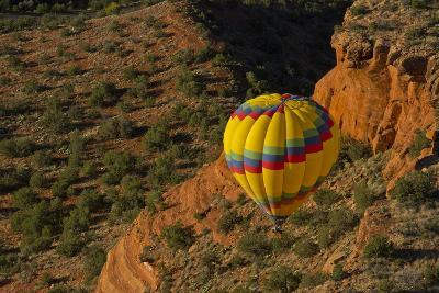 Aerial View, Doe Mesa, Red Rock Country, Sedona, Coconino NF, Arizona-Michel Hersen-Photographic Print