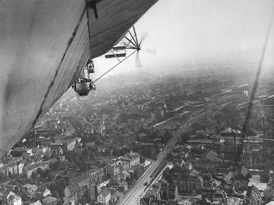Aerial View from a Zeppelin-Thomas E. & Horace Grant-Photographic Print
