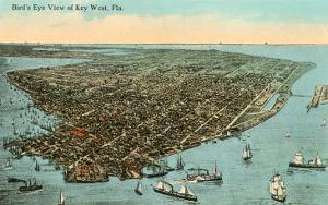 Aerial View, Key West, Florida