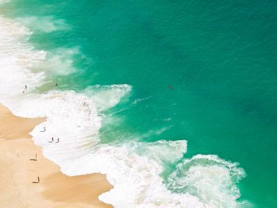 Aerial View of Beach-David Lopes-Photographic Print