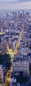 Aerial View of Buildings in a City, Manhattan, New York City, New York State, USA
