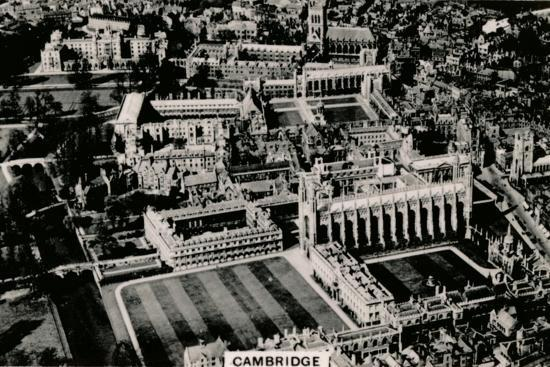 Aerial view of Cambridge, 1939-Unknown-Photographic Print
