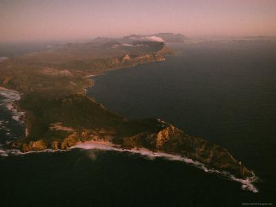 Aerial View of Cape Point, South Africa-James L^ Stanfield-Photographic Print