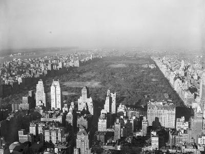 Aerial View of Central Park--Photographic Print