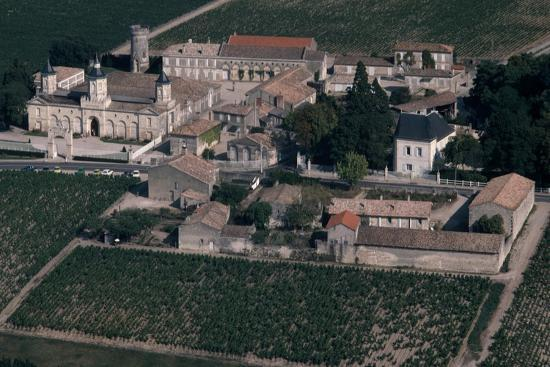 Aerial View of Chateau De Mouton-Rothschild, France--Giclee Print