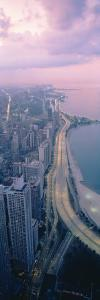 Aerial View of Chicago, Illinois, USA
