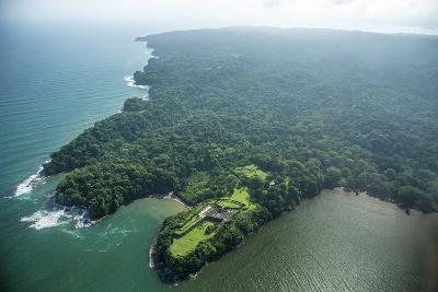 Aerial View of Fort San Lorenzo, Colon, Panama-Jonathan Kingston-Photographic Print