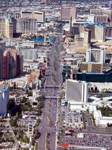 Aerial View of Historic Las Vegas, Nevada