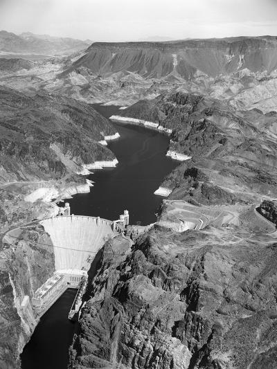 Aerial View of Hoover Dam-Charles Rotkin-Photographic Print
