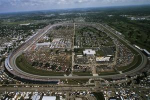 Aerial View of Indianapolis Speedway
