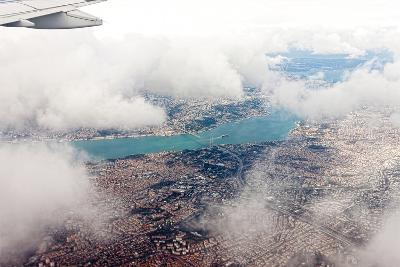 Aerial View of Istanbul- Koraysa-Photographic Print