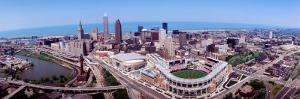 Aerial View of Jacobs Field, Cleveland, Ohio, USA