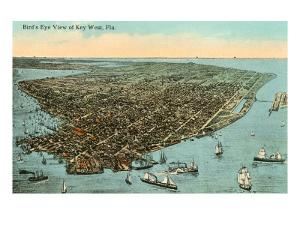 Aerial View of Key West, Florida