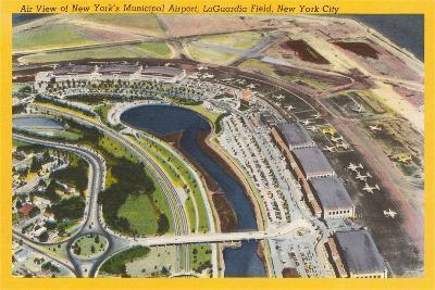 Aerial View of Laguardia Field--Art Print