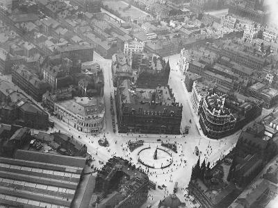 Aerial View of Leeds--Photographic Print