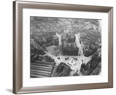 Aerial View of Leeds--Framed Photographic Print