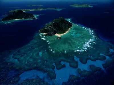 Aerial View of Melanesian Islands-James L^ Stanfield-Photographic Print