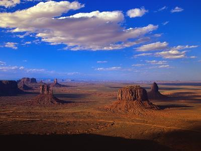 Aerial View of Monument Valley-Joseph Sohm-Photographic Print