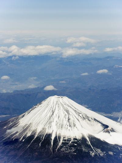 Aerial View of Mount Fuji, Shizuoka Prefecture, Japan, Asia-Christian Kober-Photographic Print