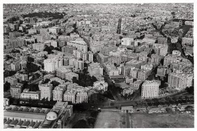 Aerial View of New Cairo, Egypt, from a Zeppelin, 1931--Giclee Print