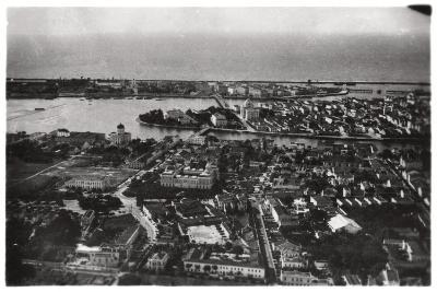 Aerial View of Recife, Brazil, from a Zeppelin, 1930--Giclee Print