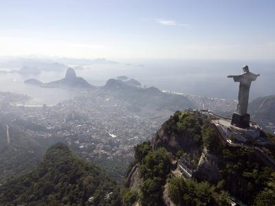 Aerial View of Rio De Janeiro from Sugarloaf Mountain--Photographic Print