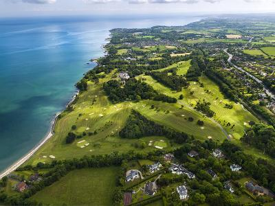 Aerial View of Royal Belfast Golf Club, Northern Ireland-Chris Hill-Photographic Print